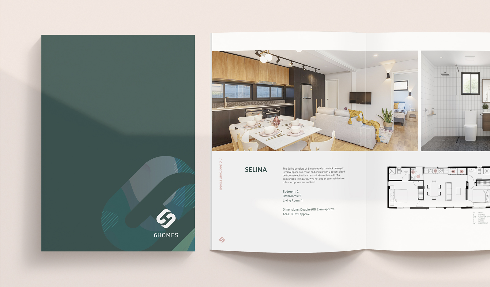 6Homes Property Brochure Design