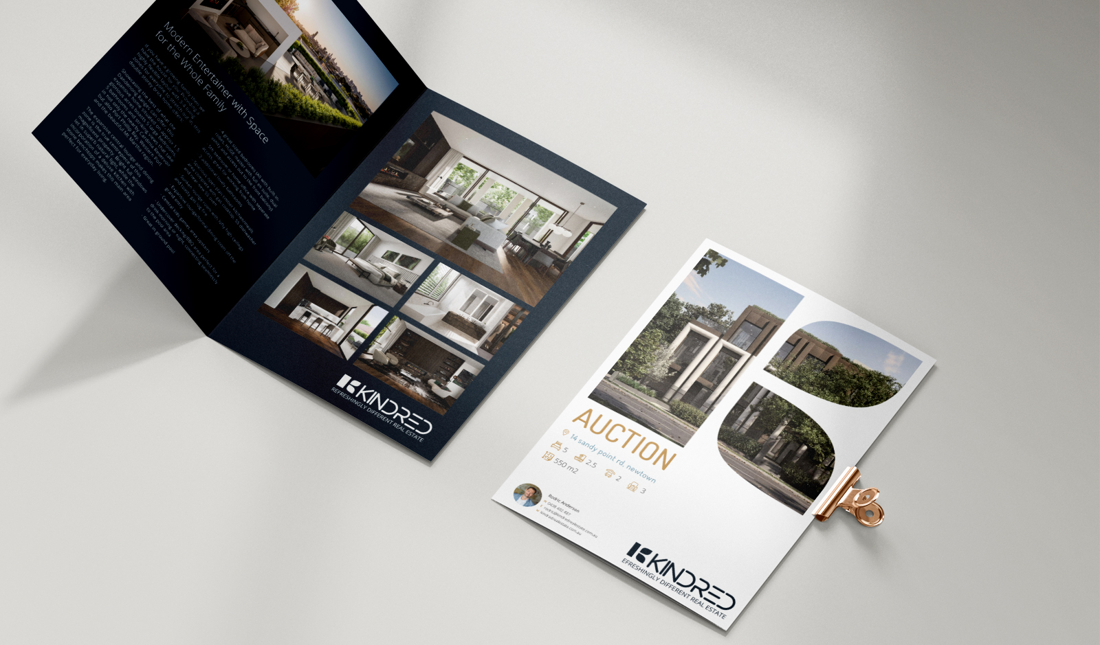 Kindred Brochure Design